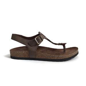 White Mountain Shoes - Cliffs White Mountain Braided Gwennie Sandals